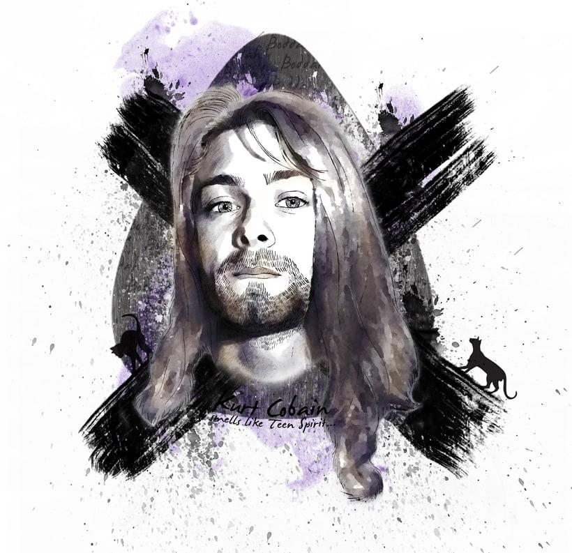 Mi Proyecto del curso: Kurt Cobain -1