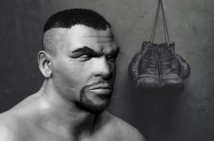 Mike Tyson - Zbrush 0