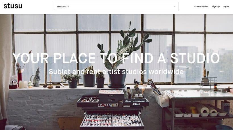 Stusu: el Airbnb de los estudios de arte 1