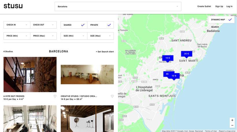 Stusu: el Airbnb de los estudios de arte 3