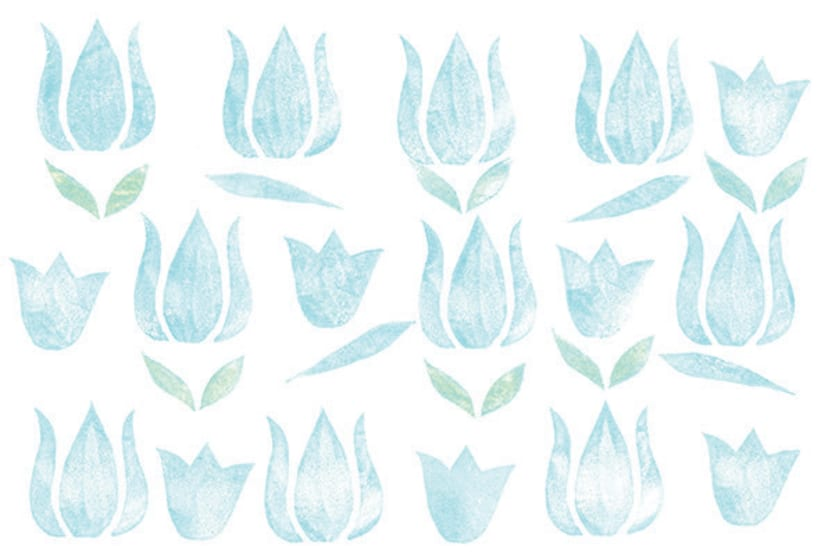 Estampado flores vintage 3
