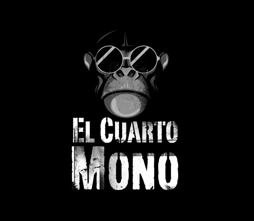 Diseño de logo para El Cuarto Mono. 0