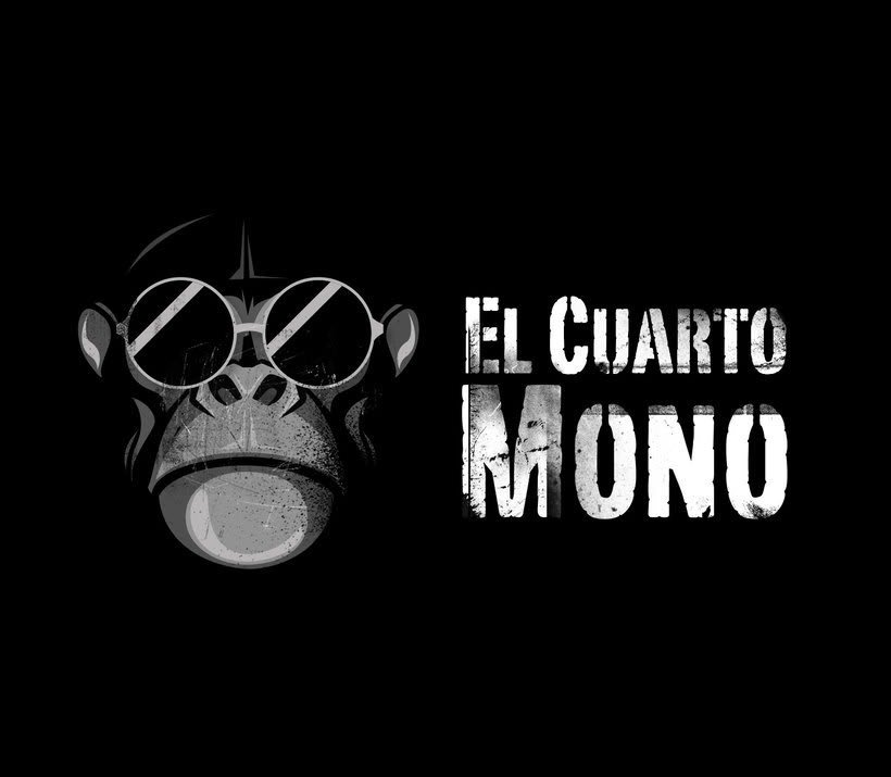 Diseño de logo para El Cuarto Mono. 1