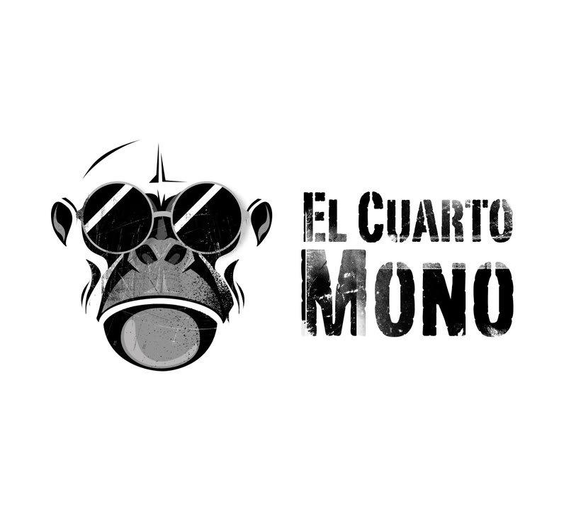 Diseño de logo para El Cuarto Mono. 3