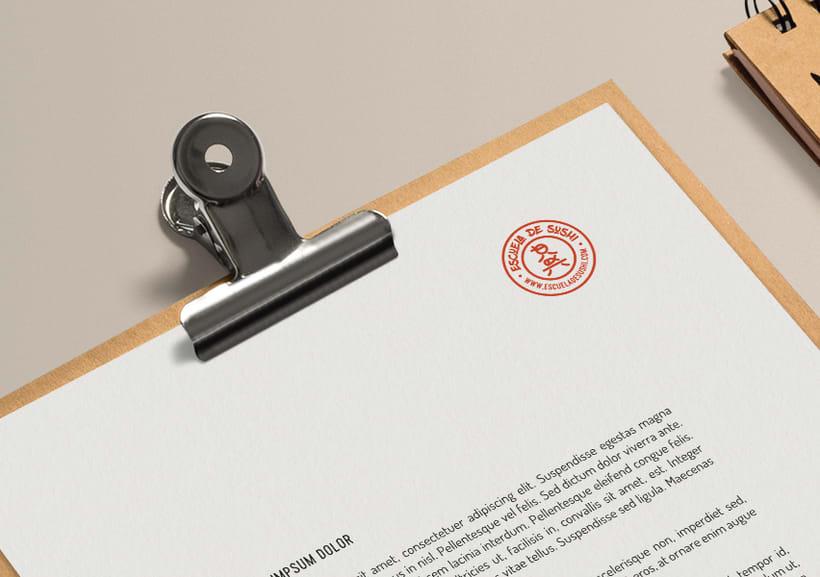 ESCUELA DE SUSHI · Brand Identity Design 4
