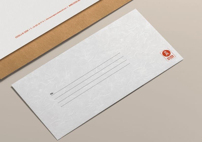 ESCUELA DE SUSHI · Brand Identity Design 5