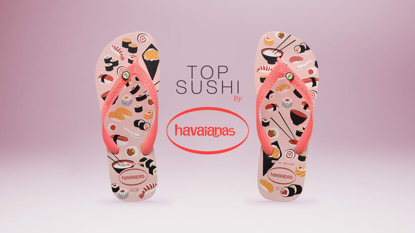 TOP SUSHI by - HAVAIANAS -  2
