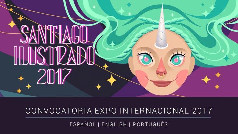 Convocatoria Expo Internacional Festival Santiago Ilustrado 2017 1