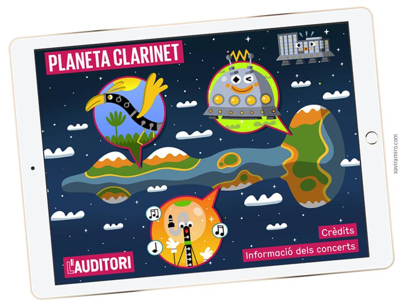 Planeta Clarinet App (iOs y Android) -1