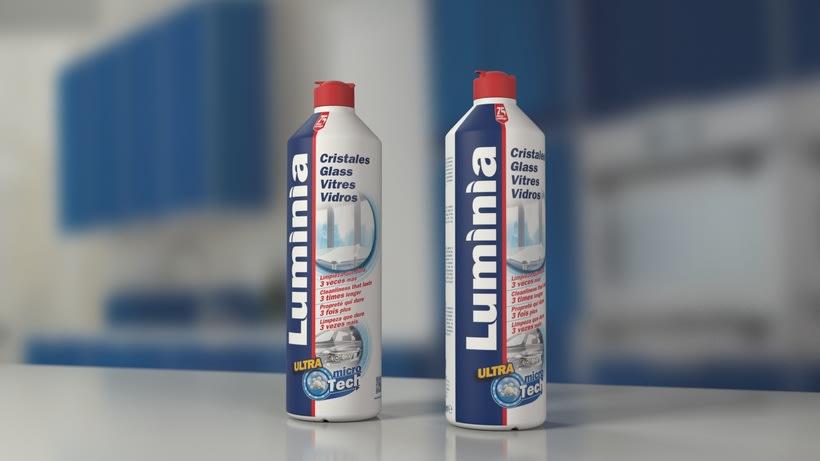 Spot para limpiacristales profesional Luminia. 0