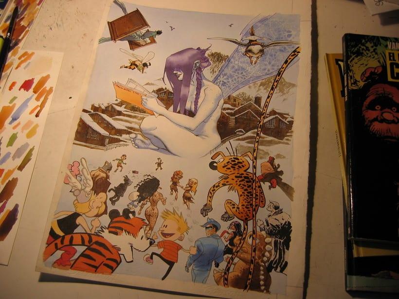 Cartel para La Massana 2006 3