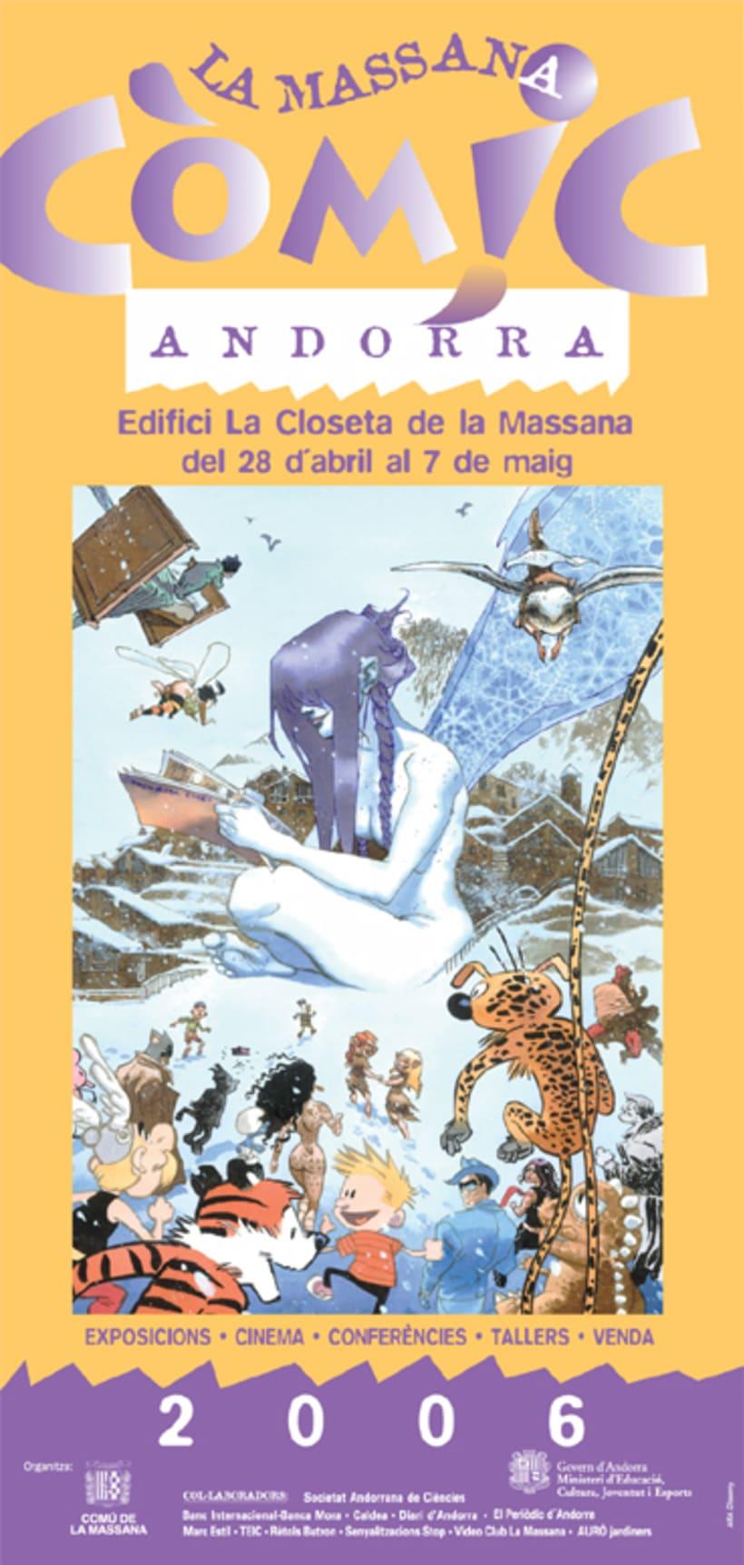 Cartel para La Massana 2006 14