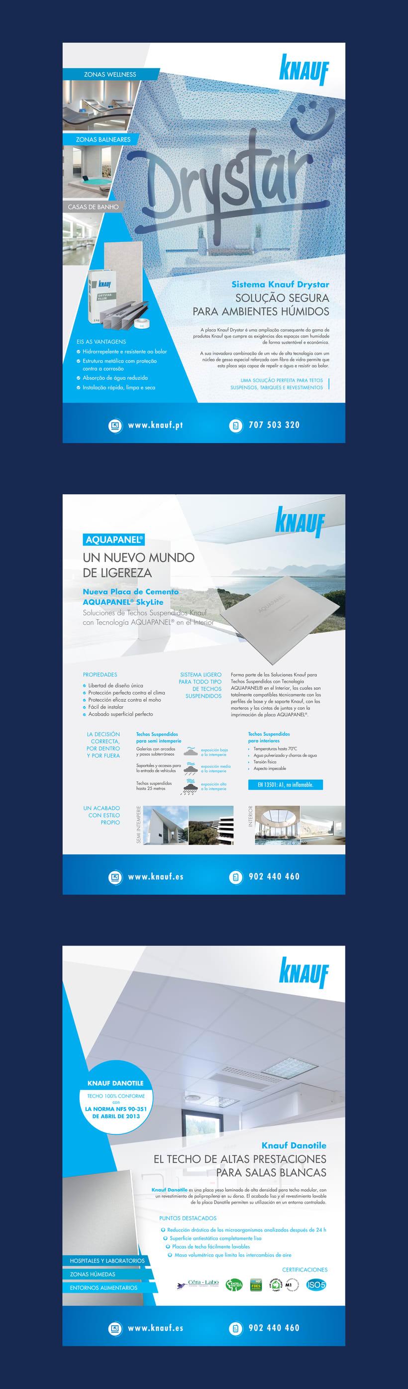 Publicidades para Knauf (2015-2016) 1