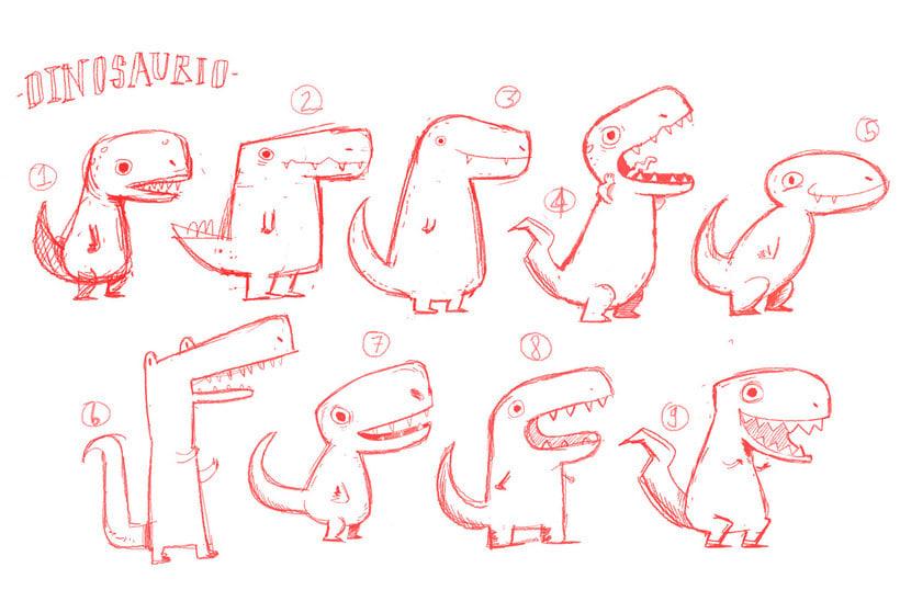 La extinción de los dinosaurios en clave de humor 5