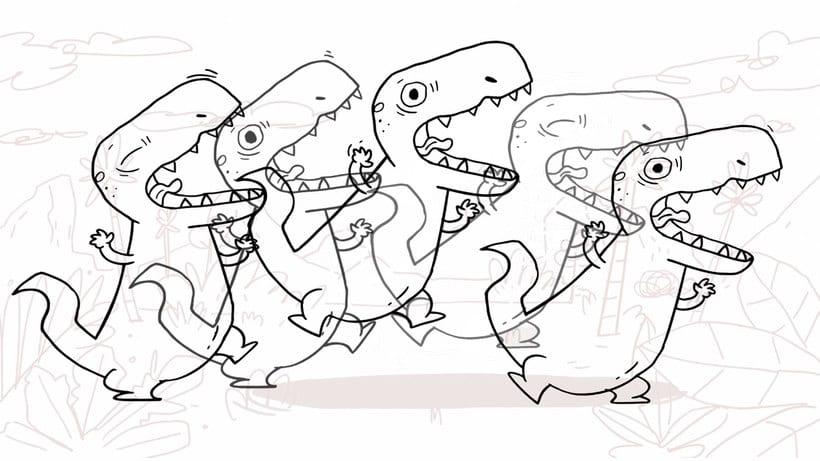 La extinción de los dinosaurios en clave de humor 7
