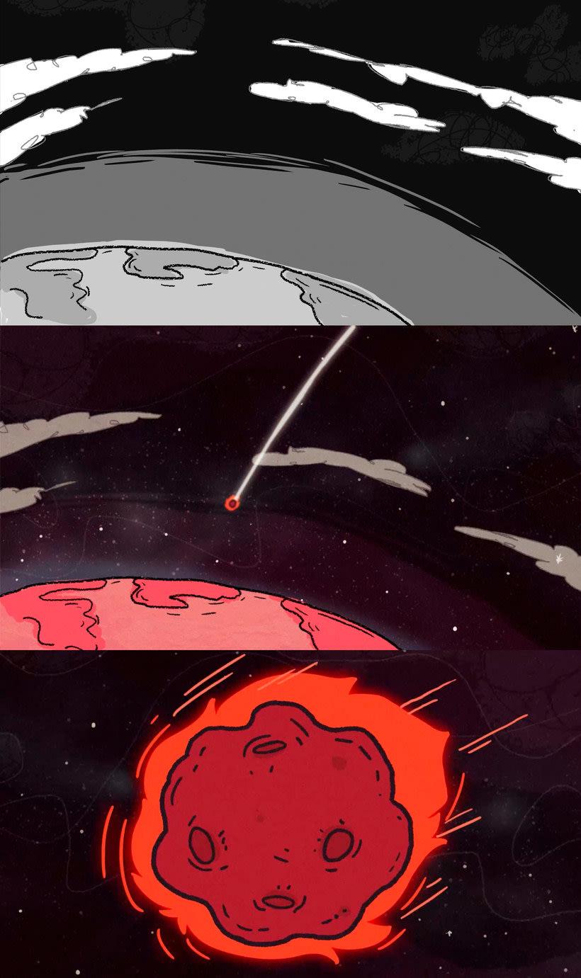 La extinción de los dinosaurios en clave de humor 8