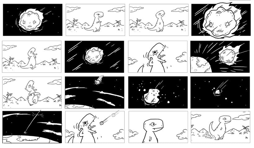 La extinción de los dinosaurios en clave de humor 6