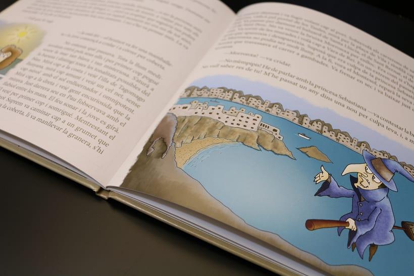 Diseño Editorial e Ilustración (En Pau i les tres nous) 4