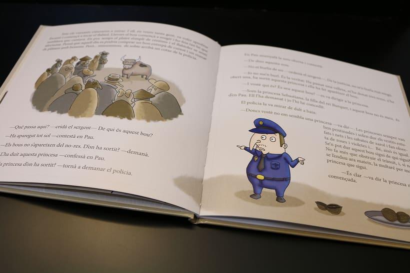 Diseño Editorial e Ilustración (En Pau i les tres nous) 6