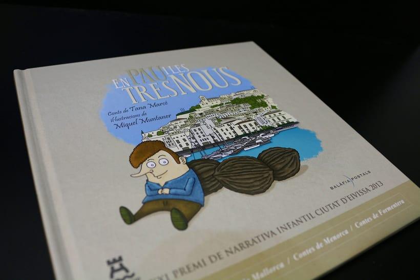 Diseño Editorial e Ilustración (En Pau i les tres nous) 0