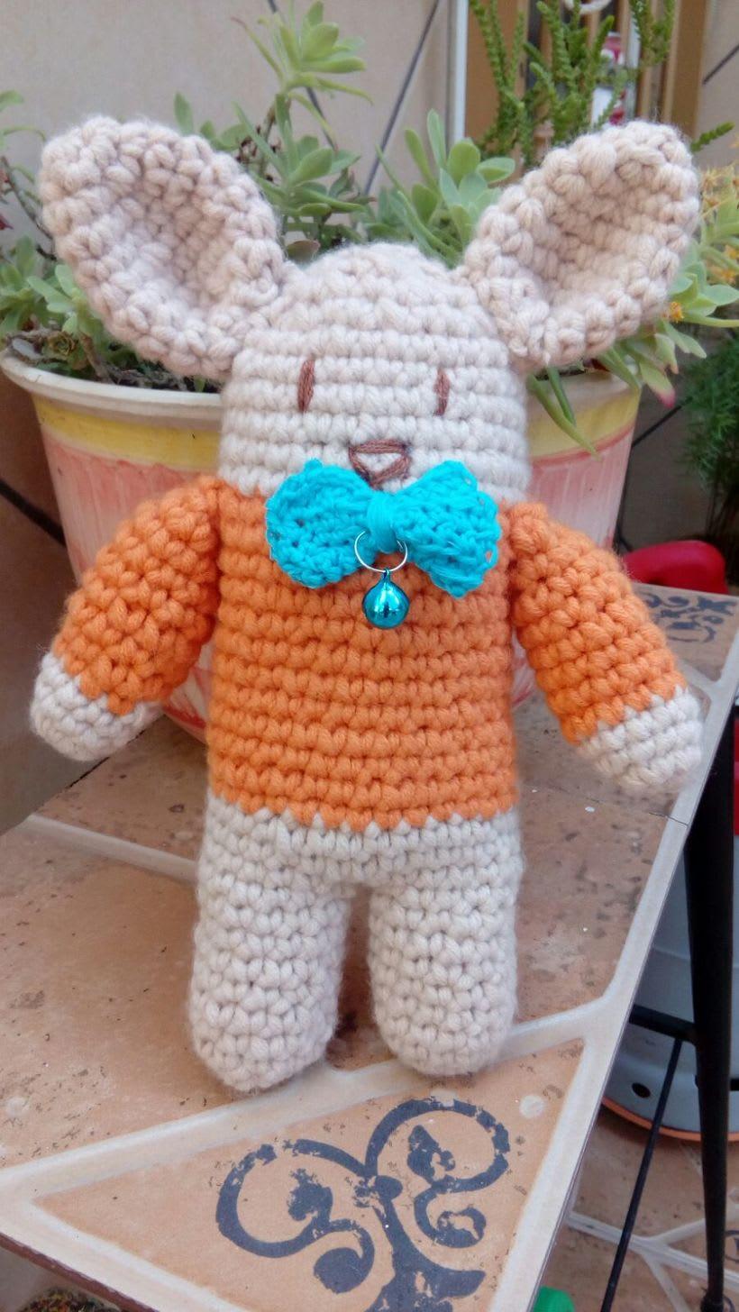 Mi Proyecto del curso: Amigurumi: Señor conejito lindo 0