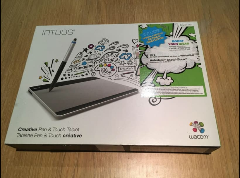 Vendo Wacom Intuos Creative Pen & Touch en BCN 1