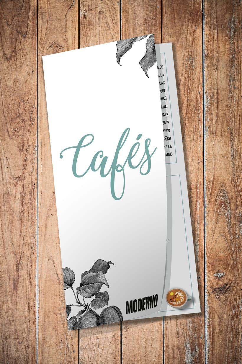 BRANDING | carta cafés 1