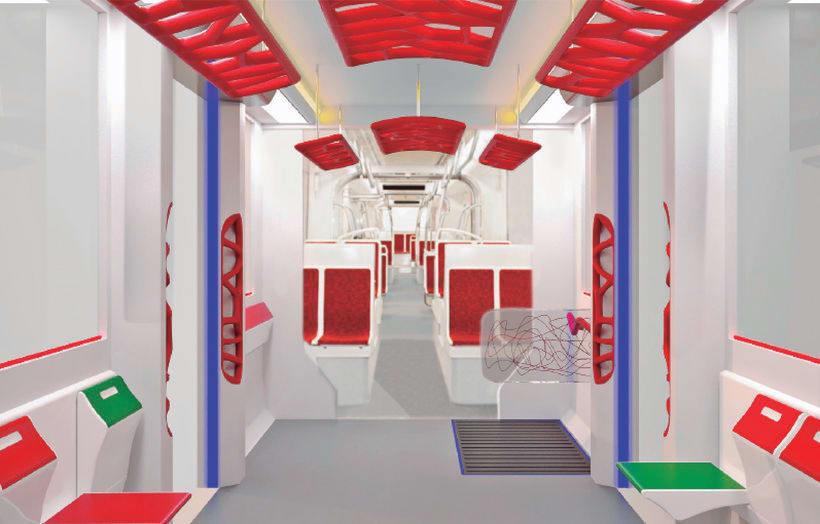 A NEW SPACE CONCEPT | Diseño interior de un tranvía 0