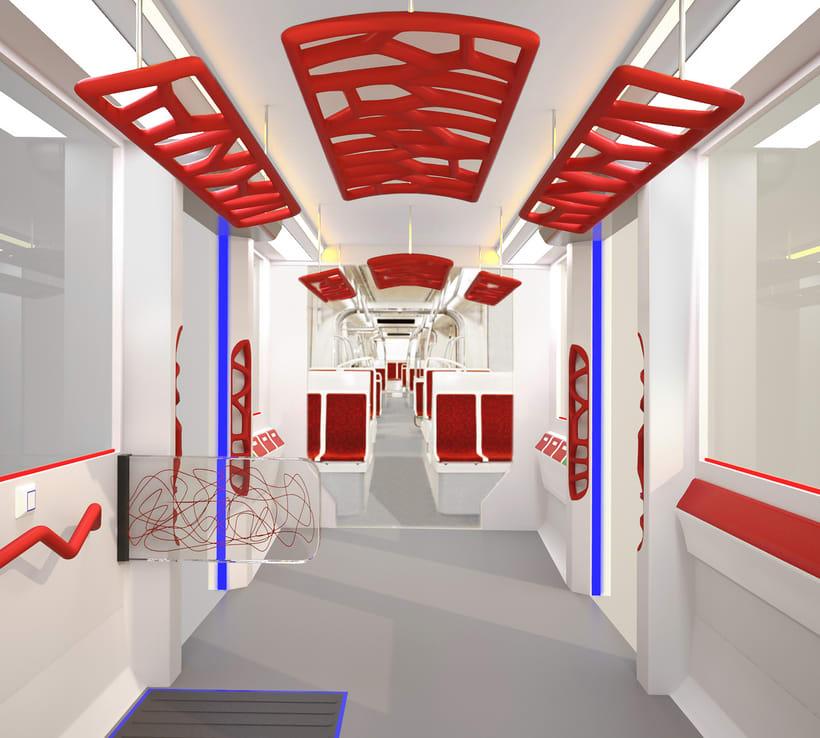 A NEW SPACE CONCEPT | Diseño interior de un tranvía 2