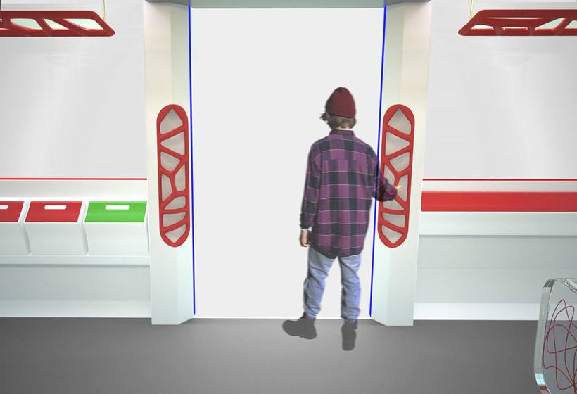 A NEW SPACE CONCEPT | Diseño interior de un tranvía 4