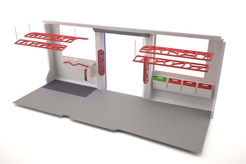 A NEW SPACE CONCEPT | Diseño interior de un tranvía 6