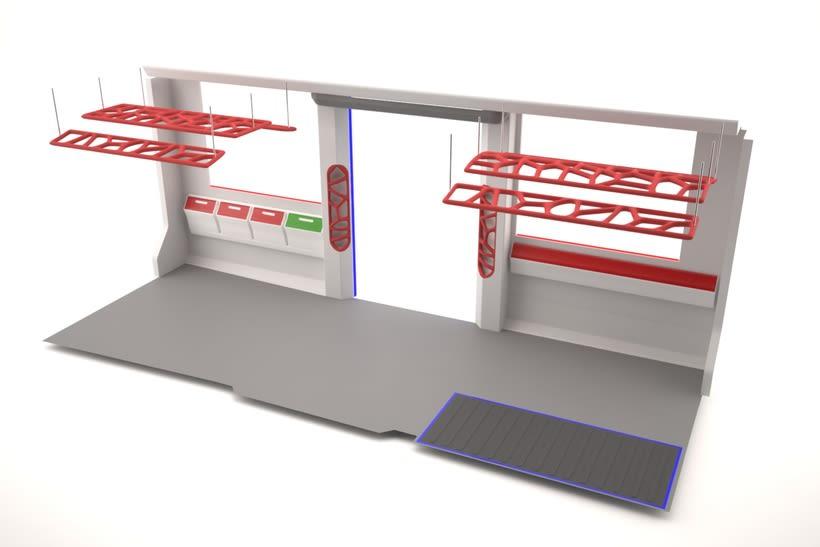 A NEW SPACE CONCEPT | Diseño interior de un tranvía 7