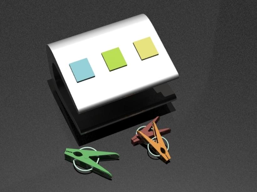 KIPIT | Diseño de un tendedor de ropa portátil. 0