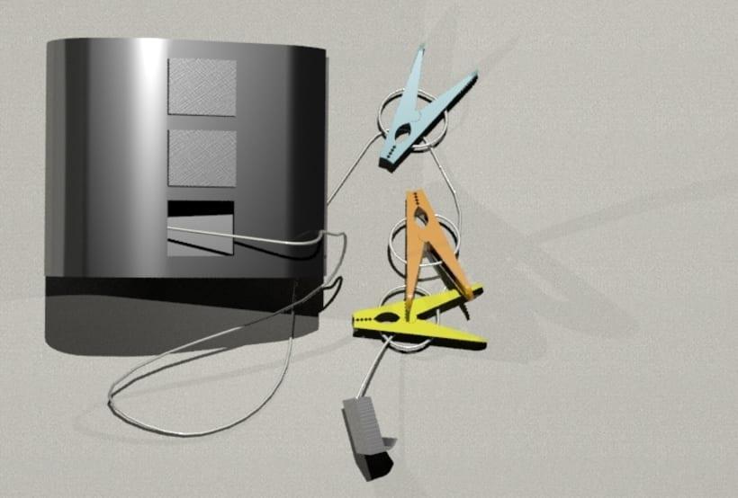 KIPIT | Diseño de un tendedor de ropa portátil. 1