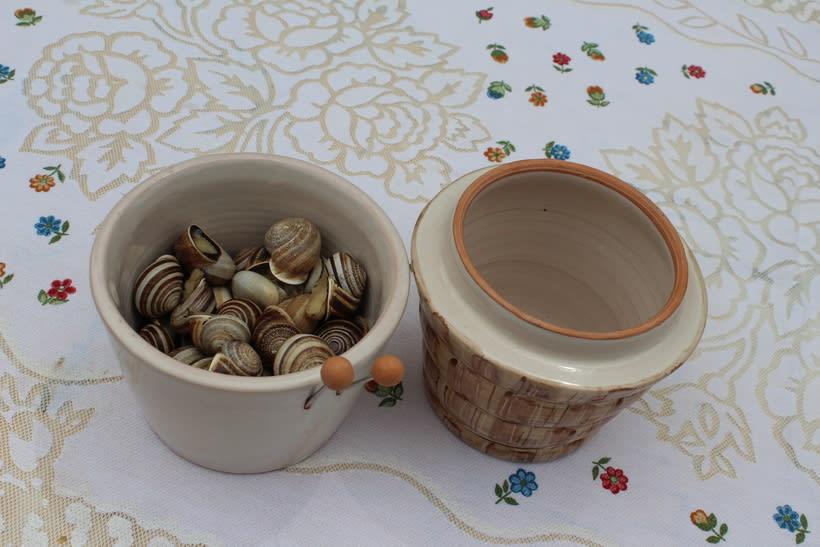 CARAGOL | Bol para comer caracoles. 1