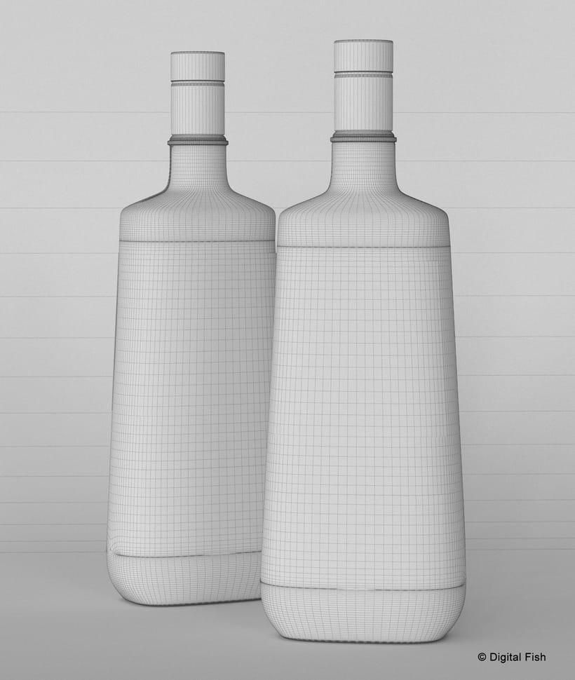 3D de producto (diseño etiqueta DIgital Fish) 2