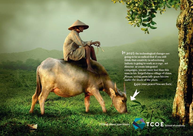TCOE.Escuela de creativos Campaign 2025 -1