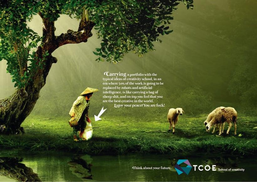 TCOE.Escuela de creativos Campaign 2025 0