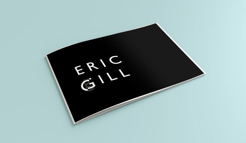 ERIC GILL // GILL SANS // TIPOGRAFÍA  0