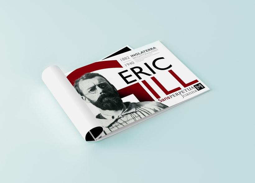 ERIC GILL // GILL SANS // TIPOGRAFÍA  1
