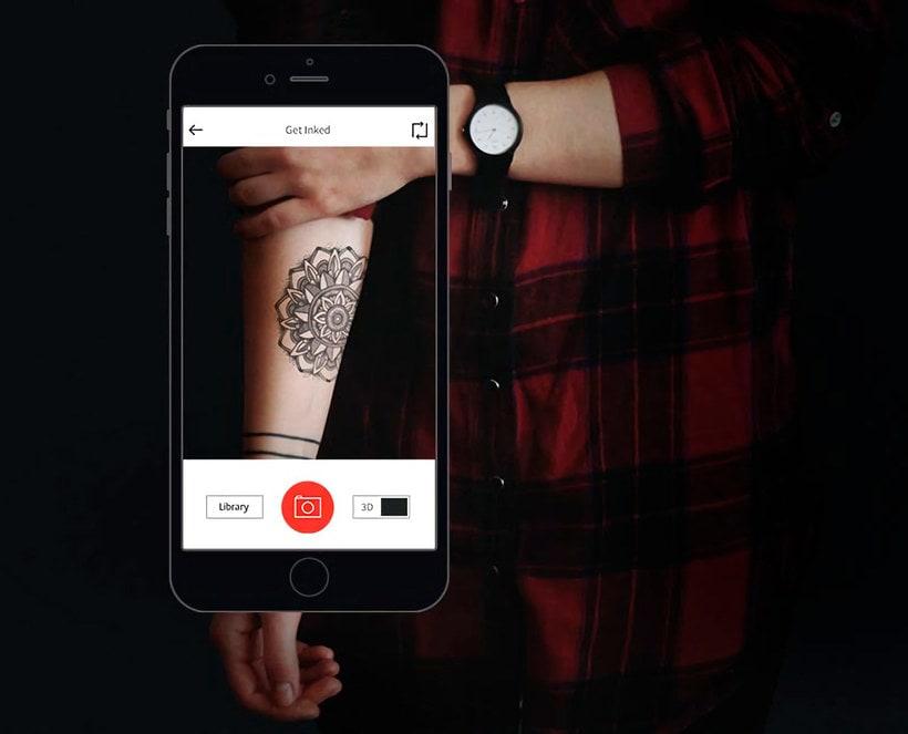 """Ink hunter, el """"probador"""" de tatuajes digital 1"""