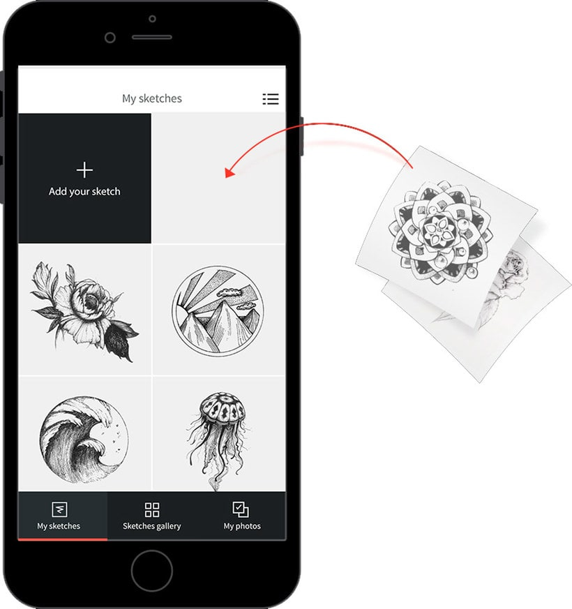 """Ink hunter, el """"probador"""" de tatuajes digital 3"""