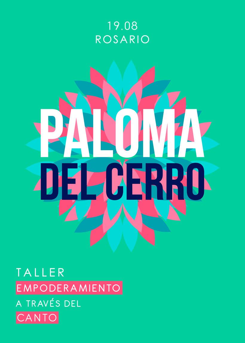 Taller de Canto a cargo de Paloma del Cerro en Rosario 2017 2
