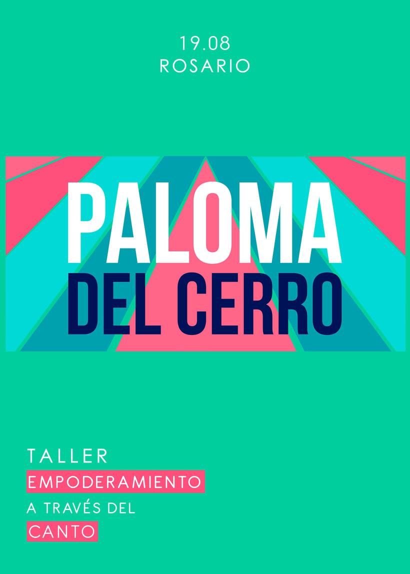 Taller de Canto a cargo de Paloma del Cerro en Rosario 2017 6