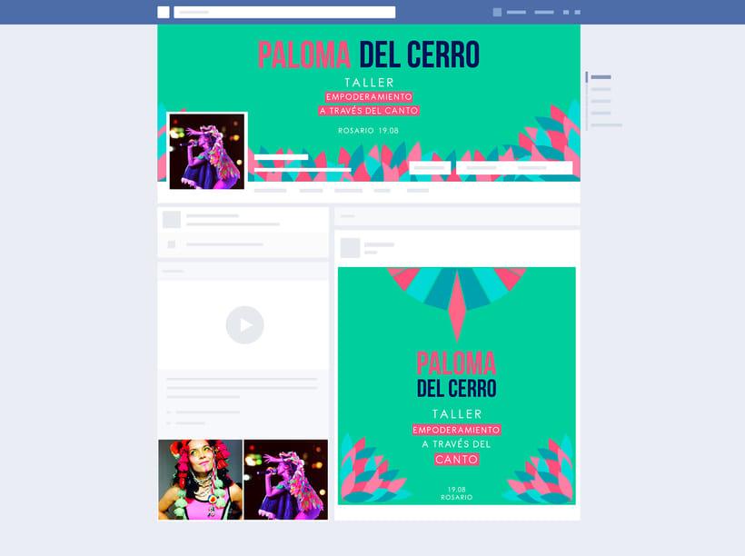 Taller de Canto a cargo de Paloma del Cerro en Rosario 2017 7