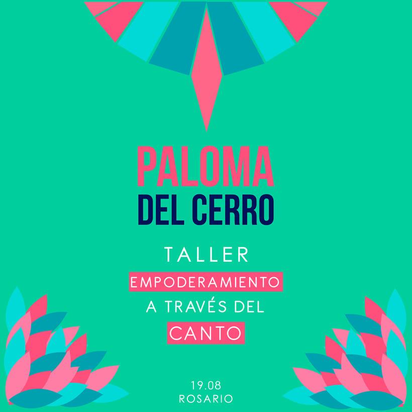 Taller de Canto a cargo de Paloma del Cerro en Rosario 2017 8