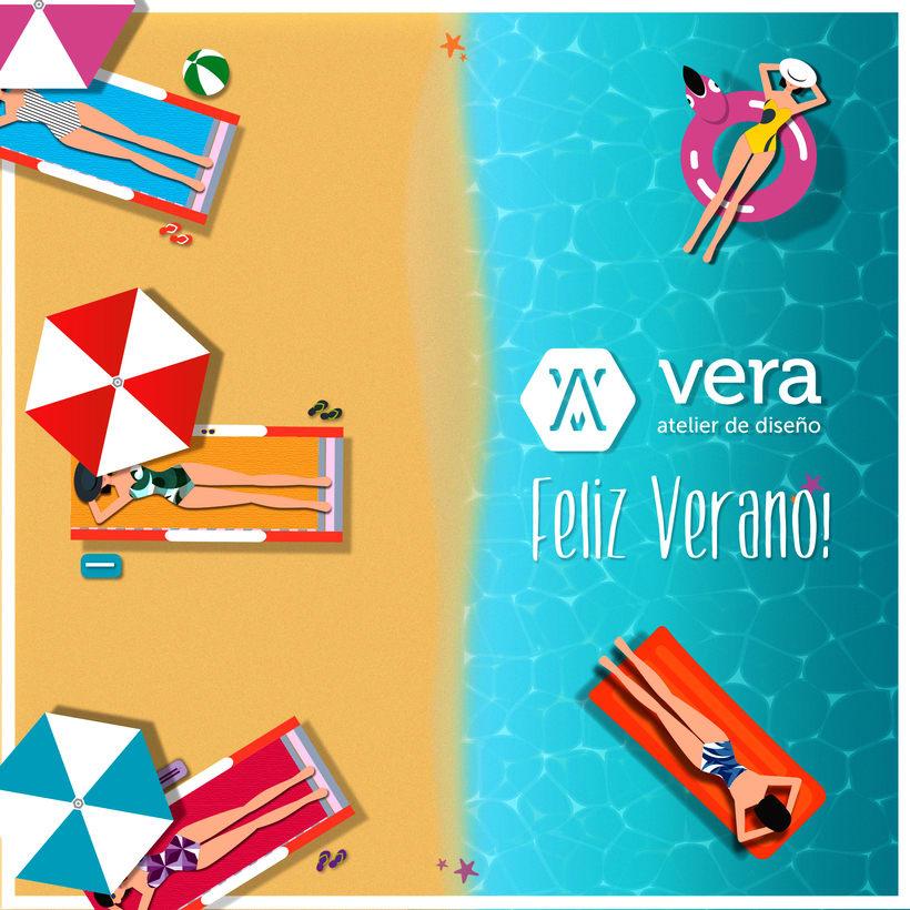 Ilustraciónes Verano -  Vera Atelier 1