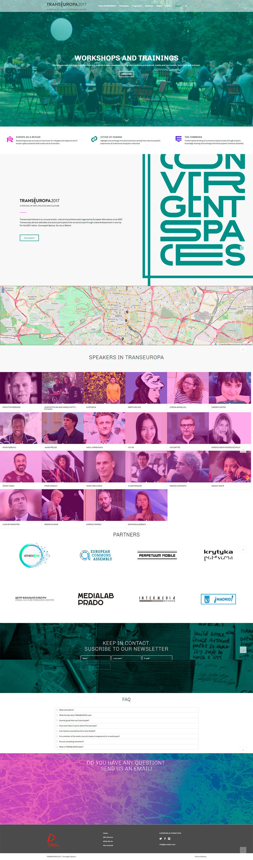 Trans Europa festival 1
