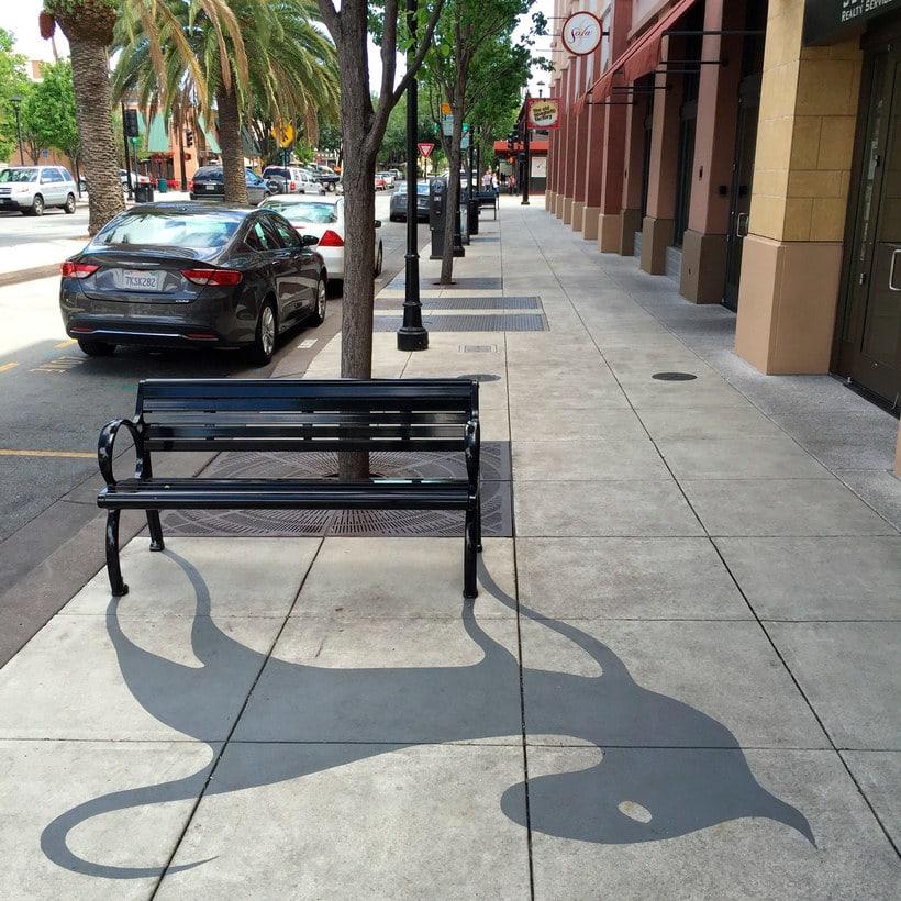 Damon Belanger, el artista urbano de las sombras 1