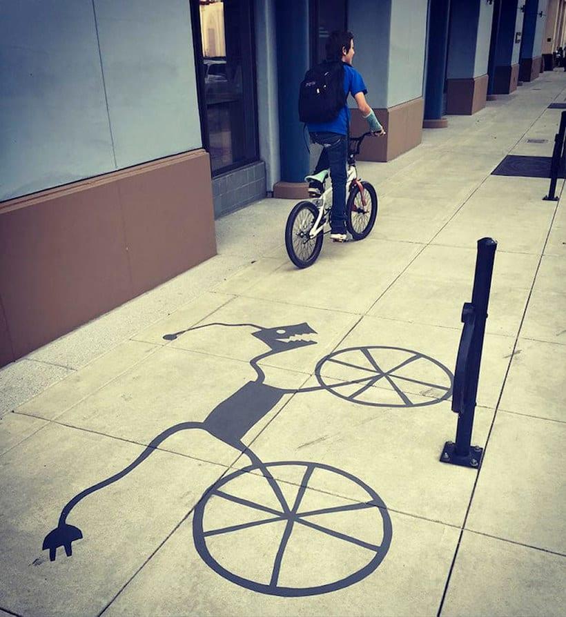 Damon Belanger, el artista urbano de las sombras 10